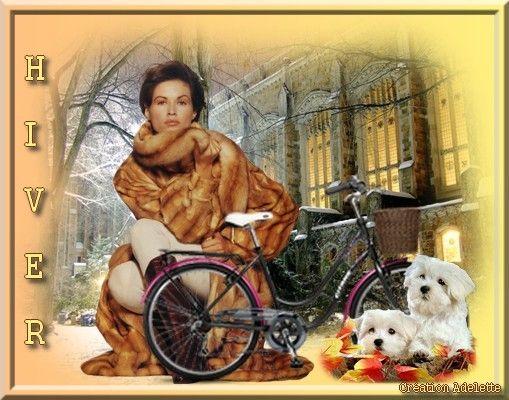 Femme et vélo