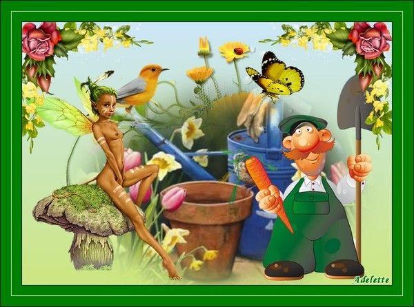 2 Juillet jardinier