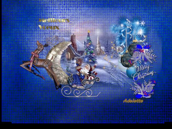 Meilleurs voeux , joyeux Noël