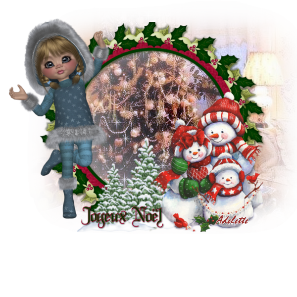 Joyeux Noël Adelette