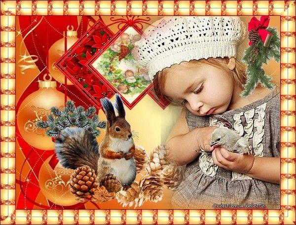 Enfant écureuil