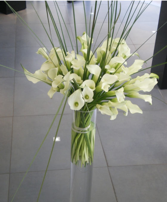 Bouquet d'arums