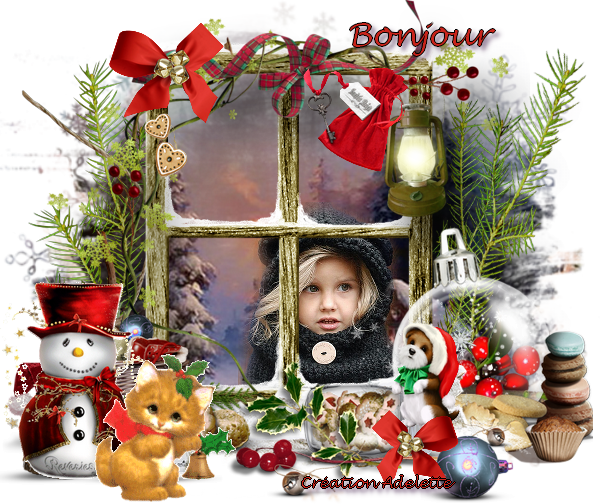Noël bonjour