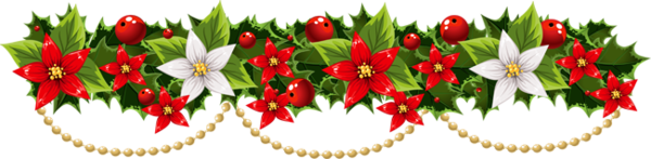 Barre de séparation Noël
