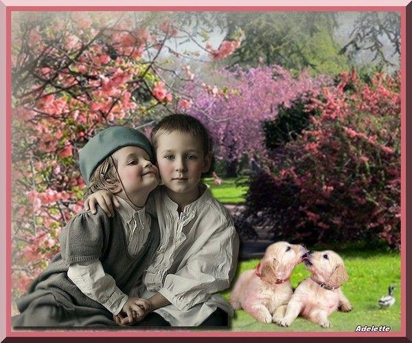 Amour d'enfants