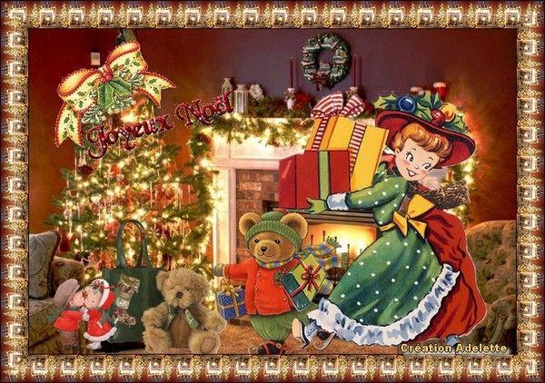 Joyeux Noël, enfant d'autrefois