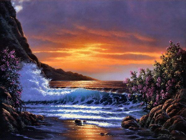 Image coucher de soleil