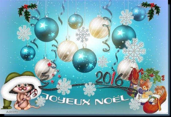 Joyeux Noël bleu
