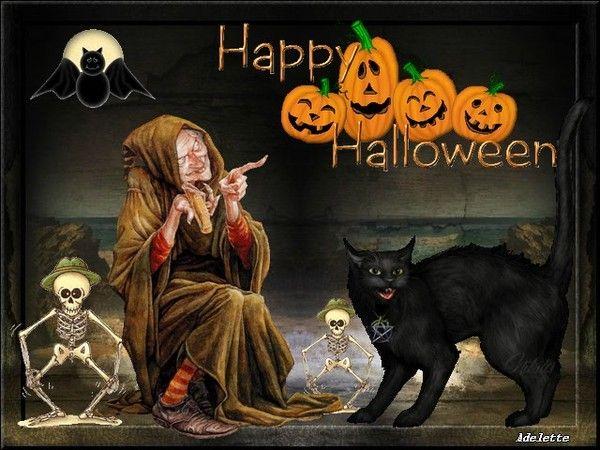 Halloween création Adelette