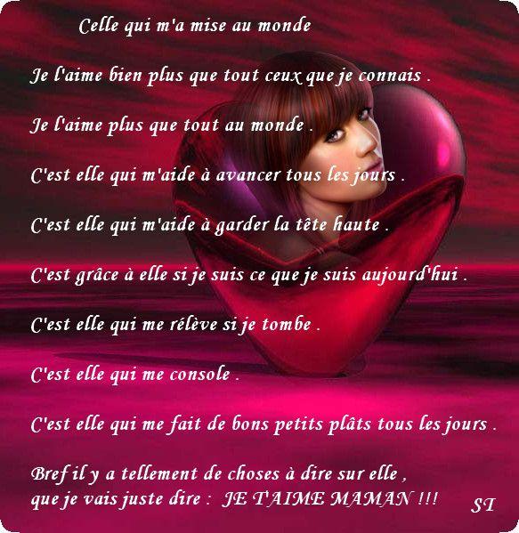 Poeme Pour Anniversaire Maman Ceremei
