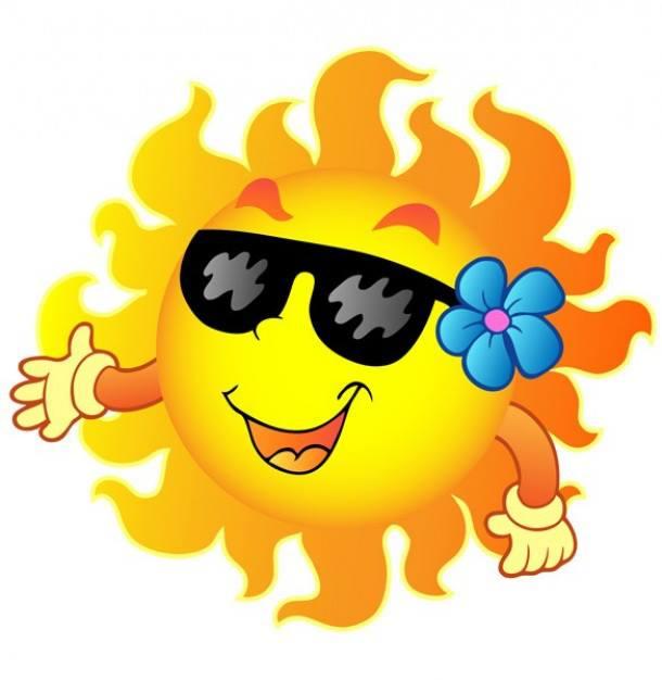 Meteo soleil vent pluie - Image soleil rigolo ...